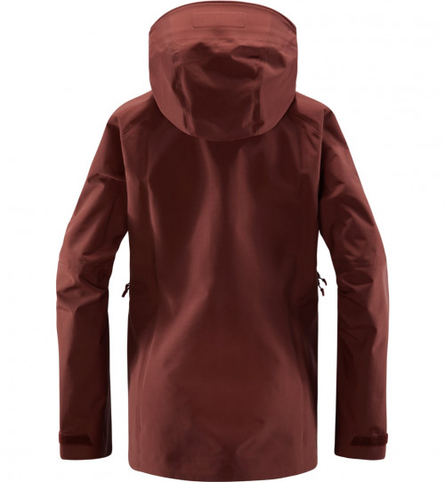 Haglöfs Grym Evo Jacket Women Maroon Red