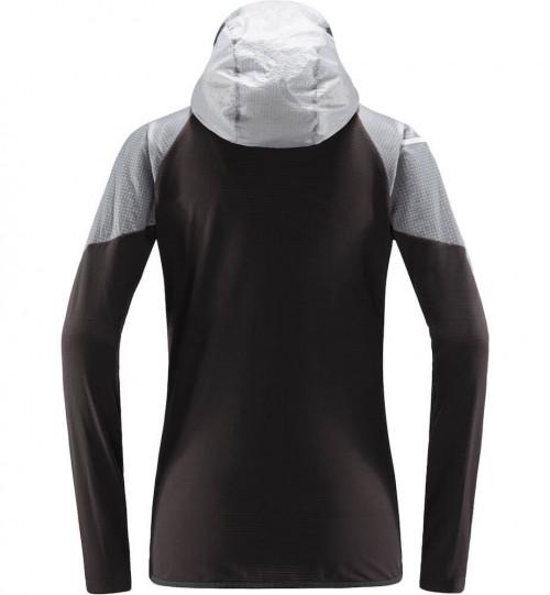Haglöfs L.I.M Hybrid Hood Women Slate/Stone Grey