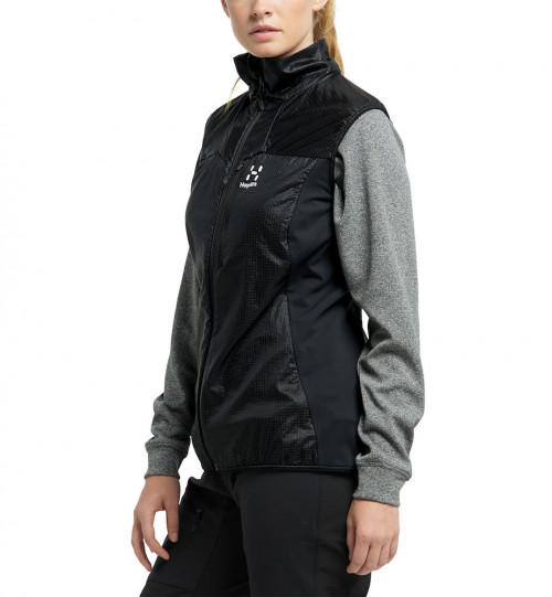 Haglöfs Summit Hybrid Vest Women True Black
