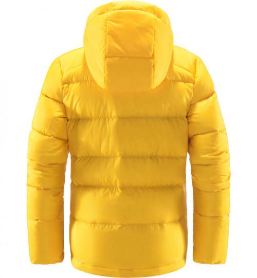 Haglöfs Bield Down Hood Women Pumpkin Yellow
