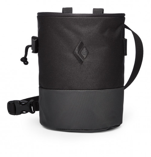 Black Diamond Mojo Zip Chalk Bag Black/Slate