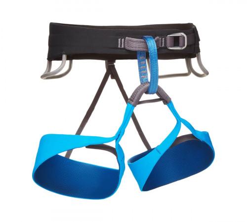 Black Diamond Solution Harness - M's Black-Ultra Blue