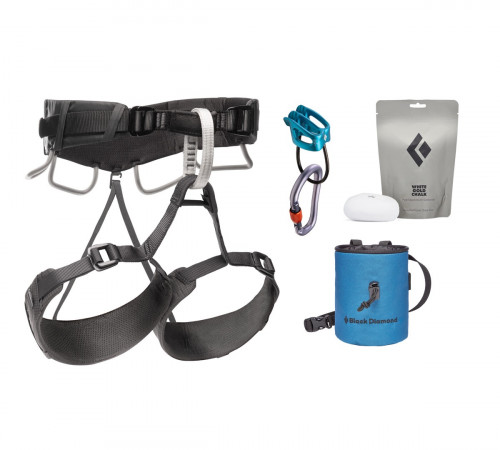 Black Diamond Momentum 4S Harness Package Anthracite