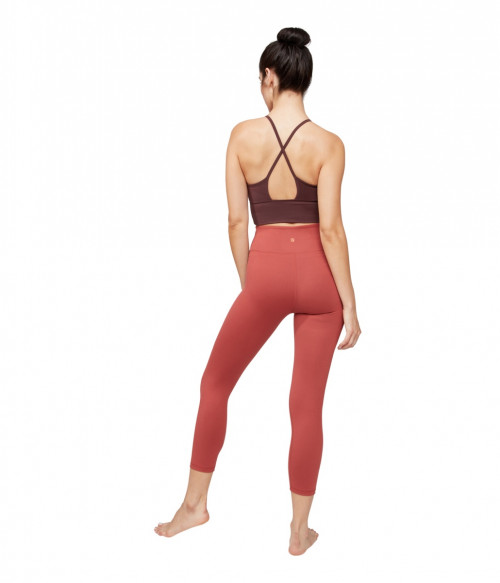 Manduka Darted Bra Dark Chestnut