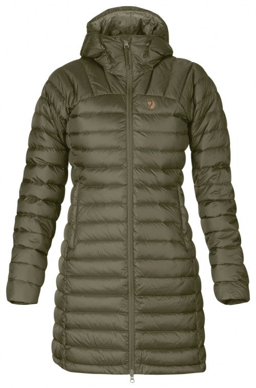 Fjällräven Snow Flake Parka Women's Laurel Green