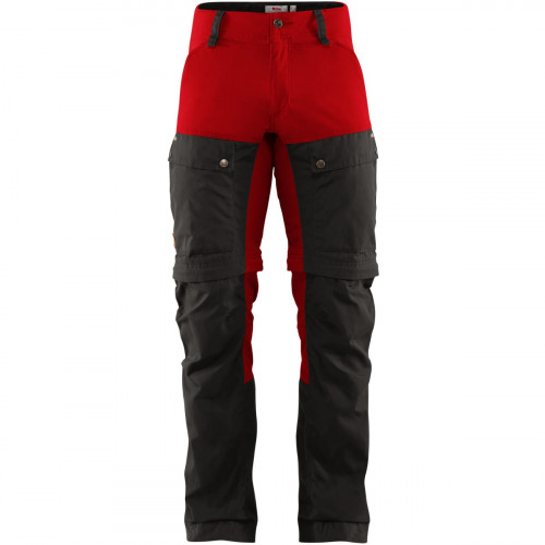 Fjällräven Keb Gaiter Trousers Men's Stone Grey-Lava