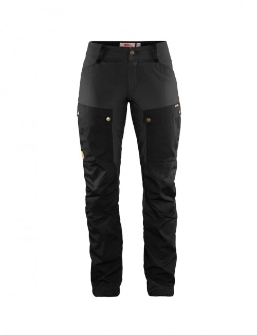 Fjällräven Keb Trousers Curved Women's Black