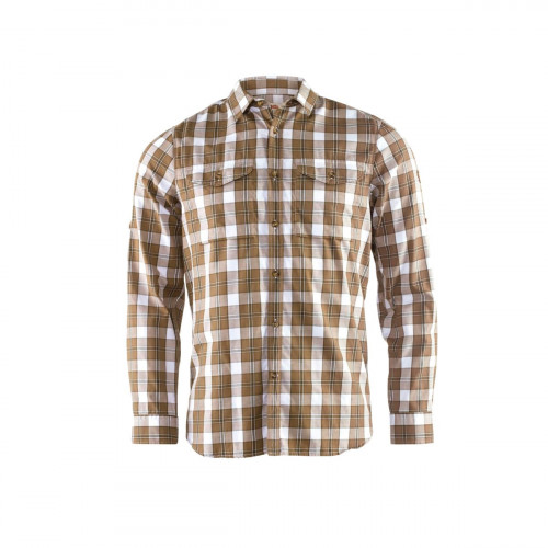 Fjällräven Singi Flannel Shirt LS Men's Dark Sand