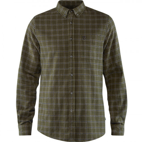 Fjällräven Övik Flannel Shirt Men's Deep Forest