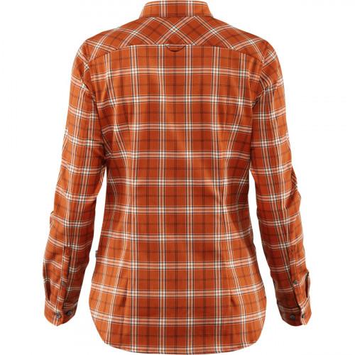 Fjällräven Fjällglim Stretch Shirt LS Women Autumn Leaf