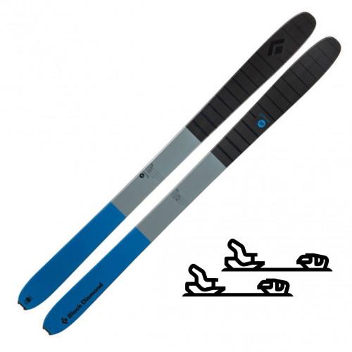 Black Diamond Boundary Pro 107, 184cm - Slalomskipakke med binding