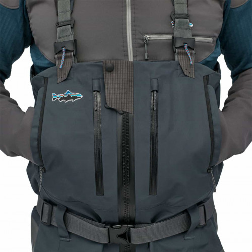 Patagonia M's Swiftcurrent Expedition Zip Front Waders Forge Grey