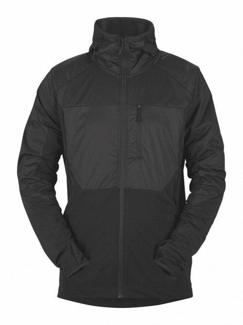 Sweet Protection Supernaut Fleece Hood Jacket M Charcoal Gray