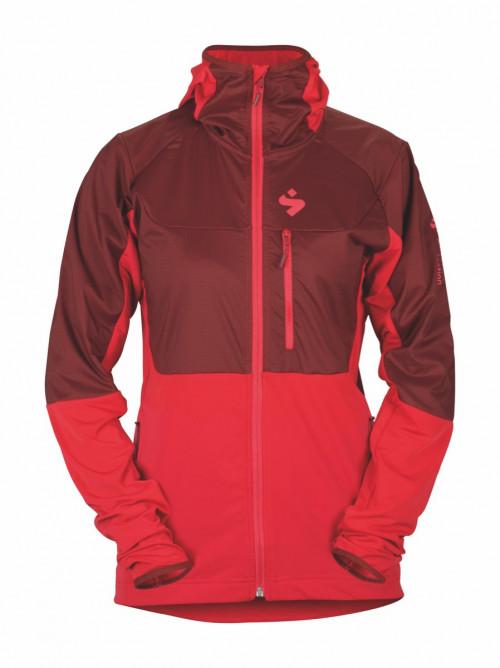 Sweet Protection Supernaut Fleece Hood Jacket W Ron Red/Rubus Red
