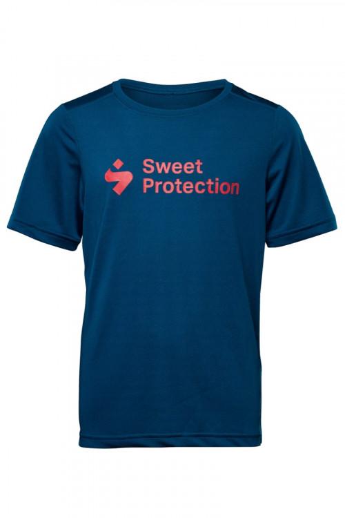 Sweet Protection Hunter SS Jersey Jr Onblu