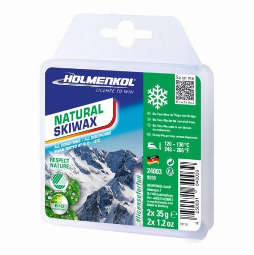 Holmenkol Natural Skiwax 2X35