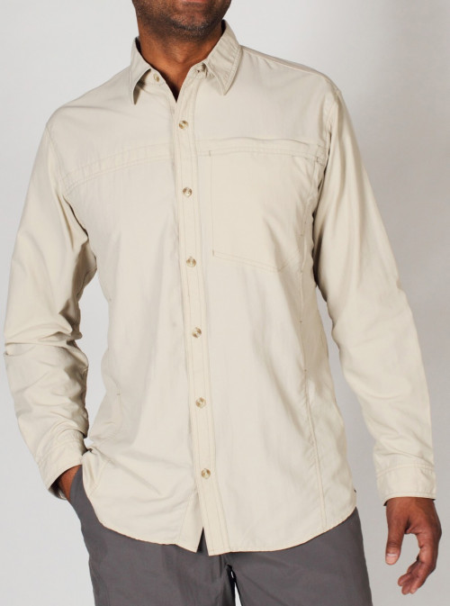 ExOfficio Bugsaway Breez'R Mens LS Bone