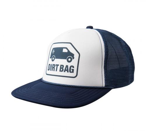 Black Diamond Flat Bill Trucker Hat Captain-White