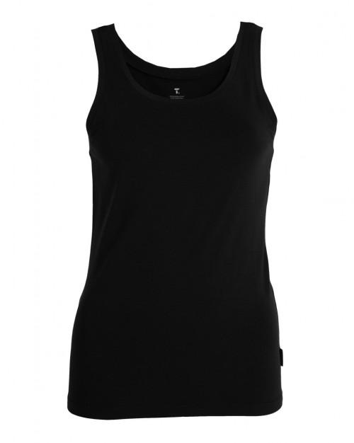 Tufte Wear Womens Tank Top Black Beauty