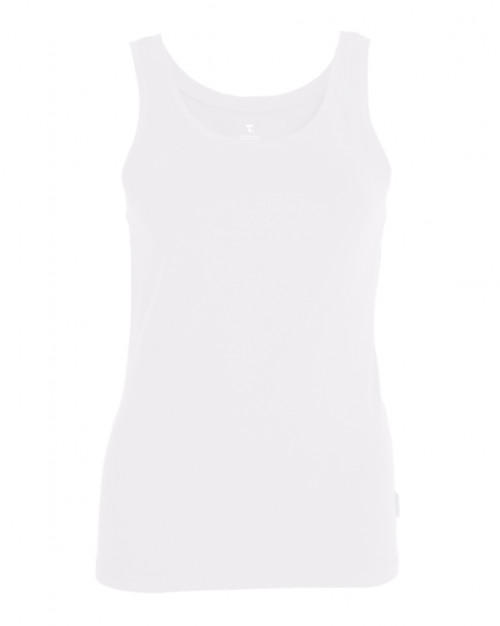 Tufte Wear Womens Tank Top Bright White