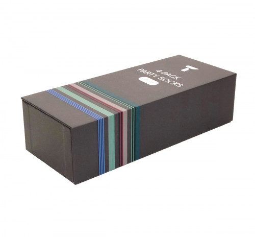 Tufte Wear Sock 4-Pack Giftbox Assorted Colors