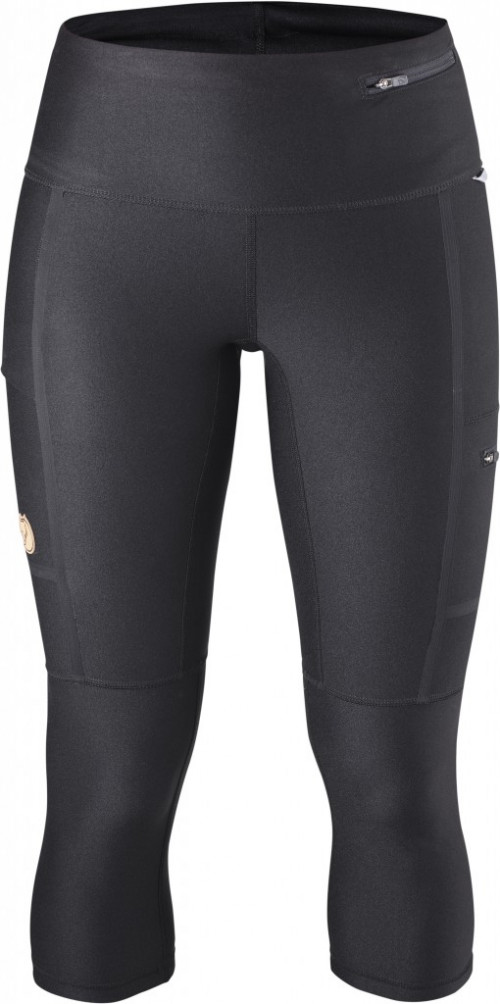 Fjällräven Abisko Trekking Tights 3/4 Women's Black