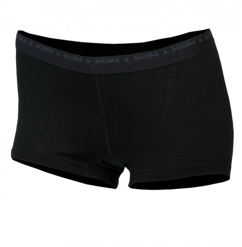 Aclima LightWool Shorts Hipster Women's Black