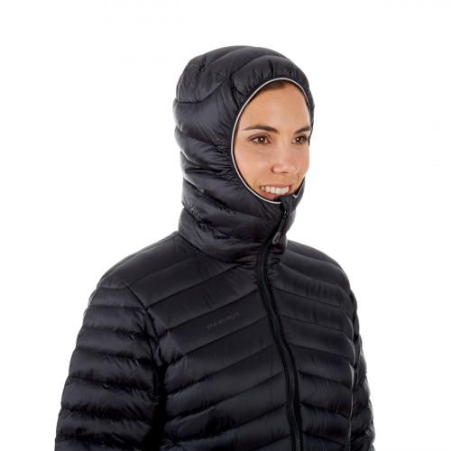 Mammut Broad Peak In Hooded Jacket Women Black-Phantom