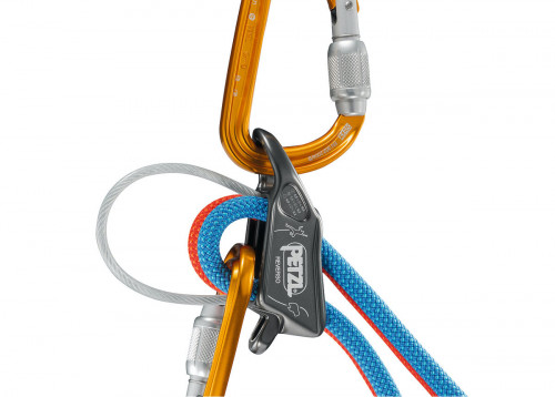 Petzl Reverso Taubrems Red