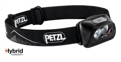 Petzl Actik Hodelykt Black