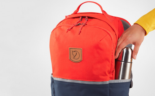 Fjällräven High Coast Kids Flame Orange-Navy