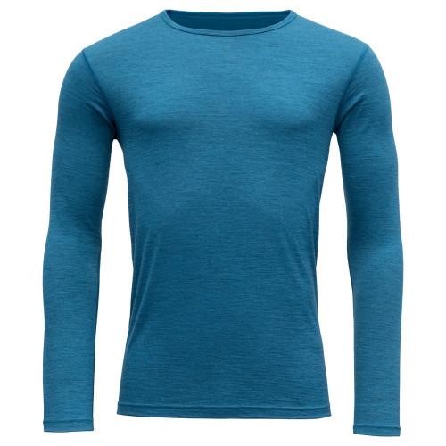 Devold Breeze Man Shirt Blue Melange