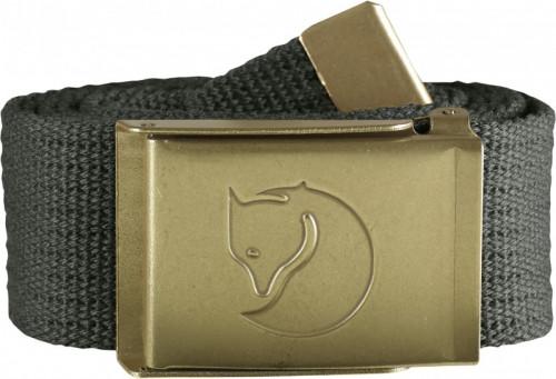 Fjällräven Canvas Brass Belt 4cm Mountain Grey