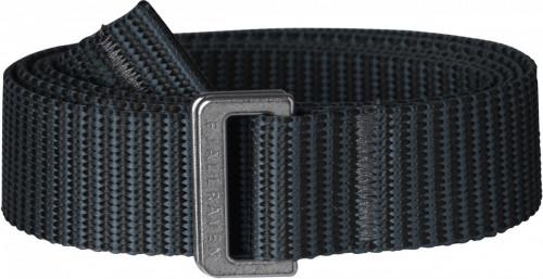 Fjällräven Striped Webbing Belt Black-Dusk