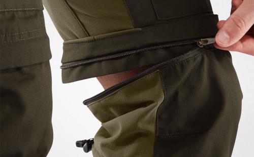 Fjällräven Keb Gaiter Trousers Men's Dark Navy-Uncle Blue