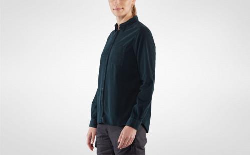 Fjällräven Övik Cord Shirt Women's Deep Forest