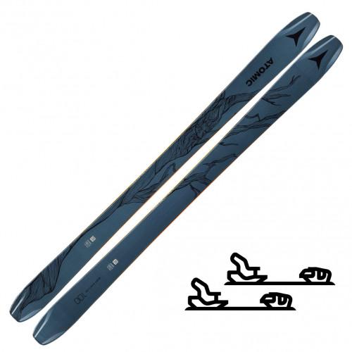 Atomic Bent Chetler 100 Blue - Slalomskipakke med binding