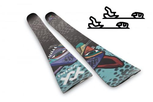 Völkl Revolt 104 - Slalomskipakke med binding