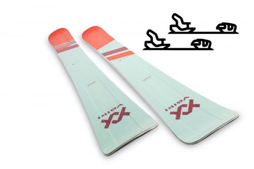 Völkl Secret 102 - Slalomskipakke med binding