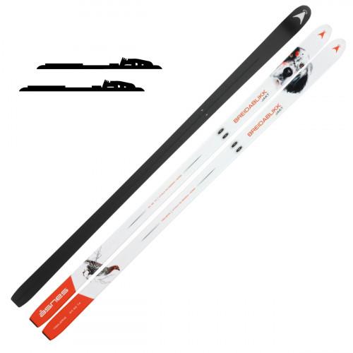 Åsnes Breidablikk Hunter BC Ski White - Fjellskipakke med binding
