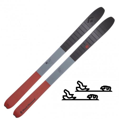 Black Diamond Boundary Pro 100 Skis - Slalomskipakke med binding