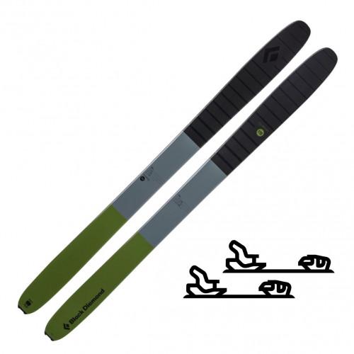 Black Diamond Boundary Pro 115, 175cm - Randoneeskipakke med binding
