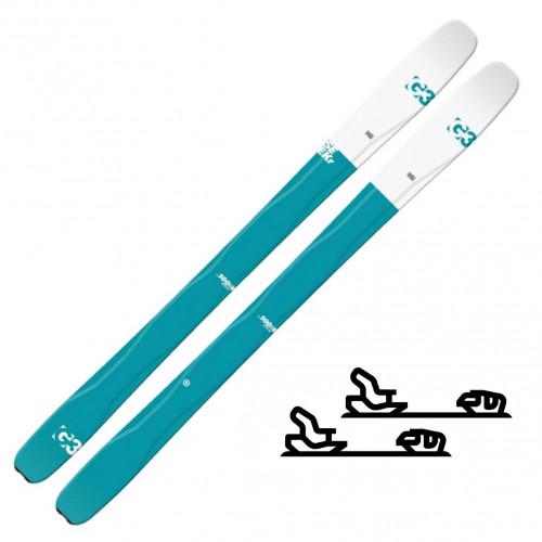 G3 Seekr 100w - Slalomskipakke med binding