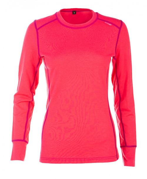Felines Shirt 100% Dame Merino Hot Pink