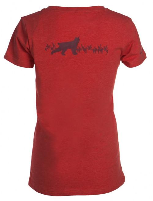Felines W's T-skjorte Med Print Pink Melert
