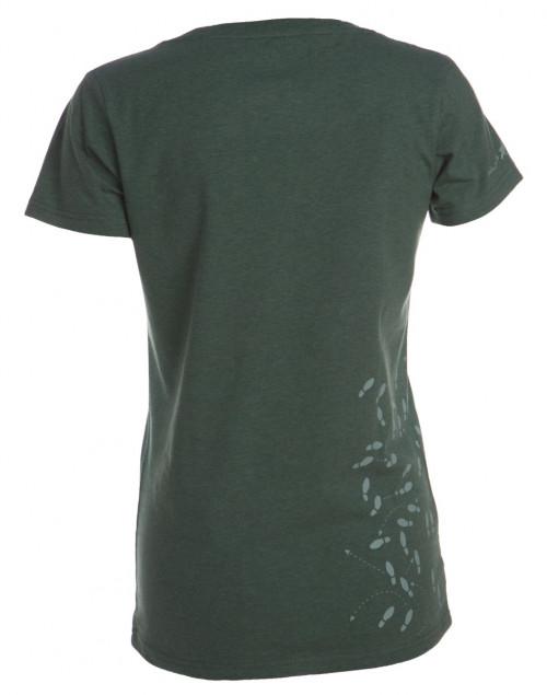 Felines W's T-skjorte Med Print Grønn Melert