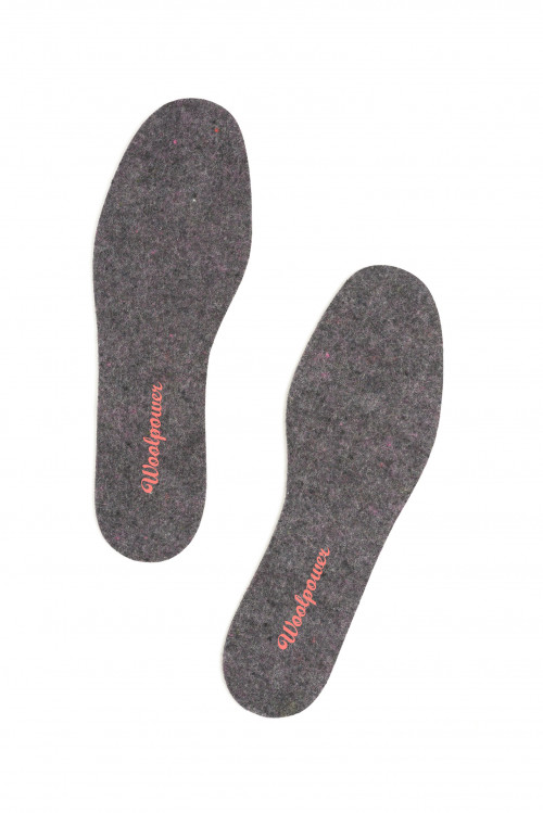 Woolpower Felt Insoles Mixed Colors
