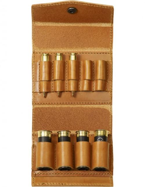 Fjällräven Ammo Case Leather Cognac