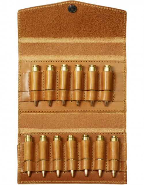 Fjällräven Bullet Case Leather Cognac