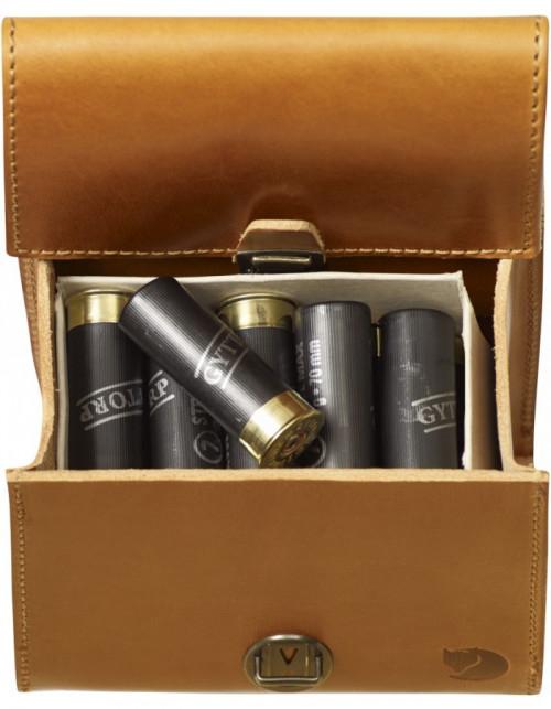 Fjällräven Cartridge Bag Leather Cognac